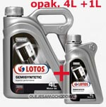 LOTOS SemiSyntetic  10W40  4+1L  /Thermal Control