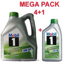 Oleje samochodowe - MOBIL 1 ESP Formula  5W30  4L +1L  PAKIET