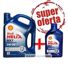 Shell Helix HX7 Professional AV 5W30 (505.01) 4L+1L