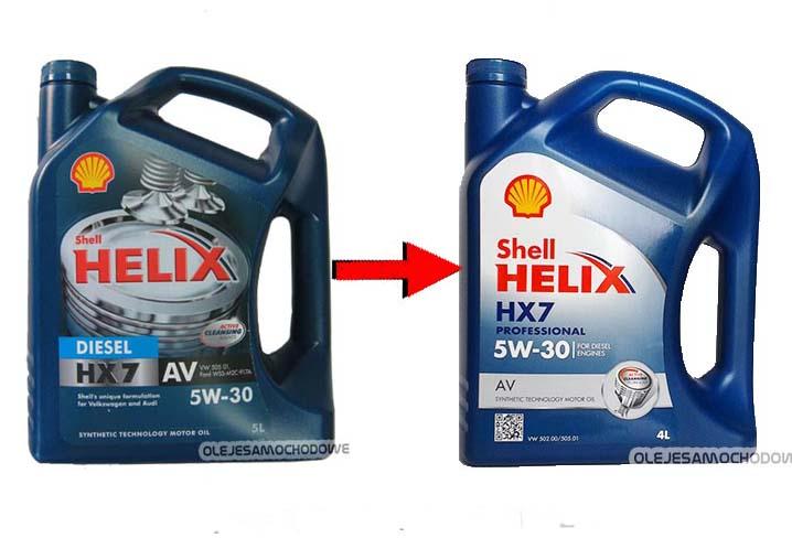 Shell Helix Diesel Hx7 Av 5W 30
