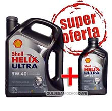 Shell Helix Ultra 5W40 4L + 1L MEGA PACK!