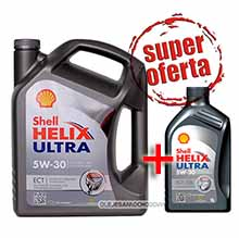 Shell Helix ULTRA ECT ( EXTRA )  5W30 4+1L (507.00)