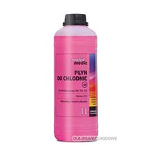 COOLANT RED P�yn do ch�odnic -35C  1L