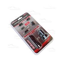 Ładowarka samochodowa Uniwersalna 12V/24V 7 elem, USB