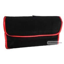 Organizer do bagażnika filcowy Duzy 53 x 16cm Czarno-czerwony