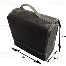 Organizer do bagażnika filcowy Mały 32 x 18cm Czarny
