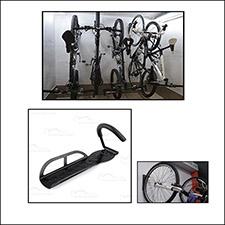 Hak, wieszak ścienny na rower + zestaw montazowy