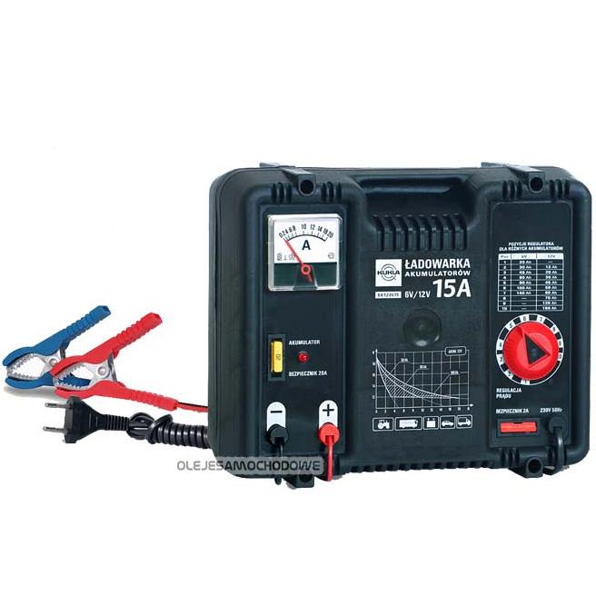 �adowarka akumulator�w (prostownik) 12V/6V 15A