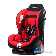 Fotelik dla dziecka F5000k Grupa 0+1 (0-18kg) czerwony