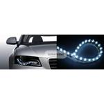 Diody LED - pasek 24cm - NIEBIESKI