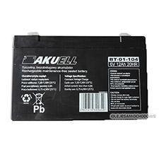 Akumulator 6V 12AH 20HR / 15x5x9cm /