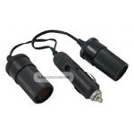 Rozga��ziacz 2 wej�cia + kabel  12V-24V   /61332/