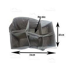 Organizer do bagażnika 34x23x21 cm z rączką