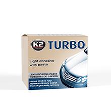 Lekkościerna NANO pasta woskowa TURBO K2 / 250g + gąbka
