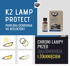 LAMP PROTECT K2 10ml powłoka ochronna do lamp K530