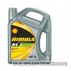 Olej silnikowy Shell RIMULA R4 X 15W40 5L