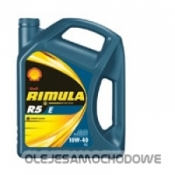 Olej silnikowy Shell RIMULA R5 E 10W40 20L