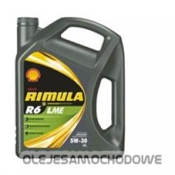 Oleje samochodowe - Shell RIMULA R6  LME 5W30 4L