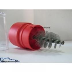 Szczotka do czyszczenia klem akum. (plastik)