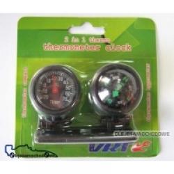 Termometr samochodowy + KOMPAS