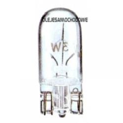 Żarówka  12V  5W  całoszklana T10