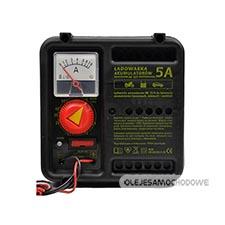 Ładowarka 12V 5A do akumulatorów żelowych (prostownik)