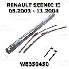 Wycieraczki - Komplet piór Aero (WE350450) Renault Scenic II 2003-2004 trzpień