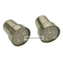 LED żarówka 12V  10W  BA15s - 2szt.